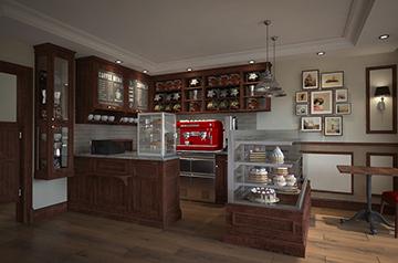 Kawiarnia w GartZ